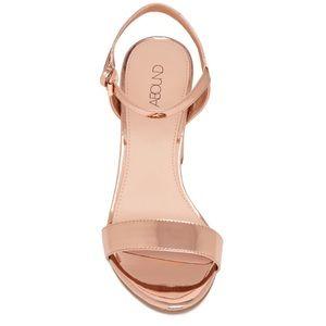 a09c61d60e1 Abound Shoes - Abound Steph Metallic Block Heel